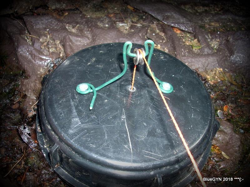 Une jauge à 1 euro pour un récupérateur d'eau de pluie