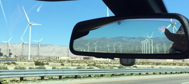 Palm Springs Wind Mills