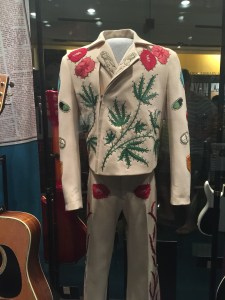 "Gram Parson's outfit. He is known for ""cosmic American music."""