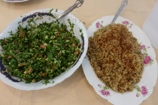 Tabouli and Frekkah