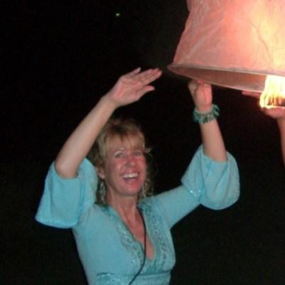 Sky Lantern in Thailand