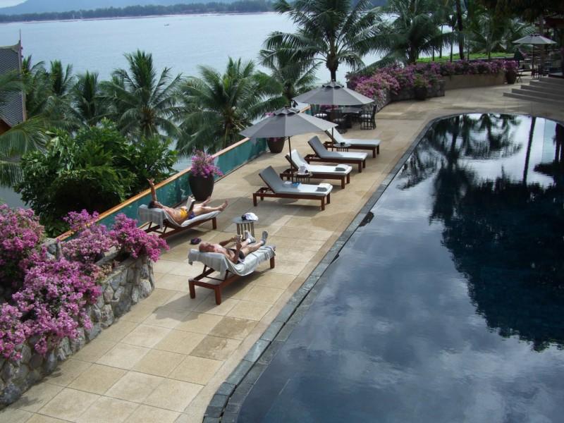 Pool in Phuket Thailand