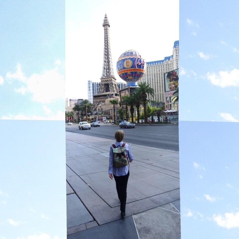 Walking the Vegas highway