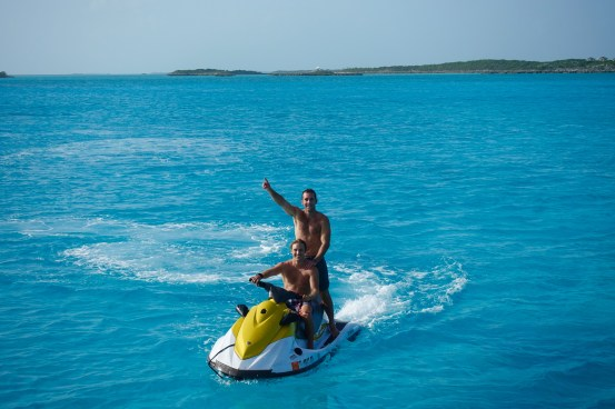 Jetski in Bahamas