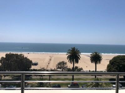 View of Santa Monica, CA
