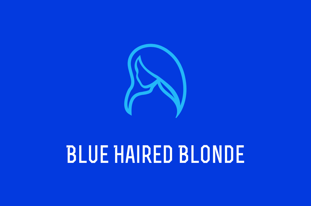 Blue Haired Blonde