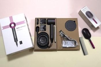 一台入手,通通吹頭通通有,贈品最超值團,最新Dyson Supersonic™ HD03 吹風機