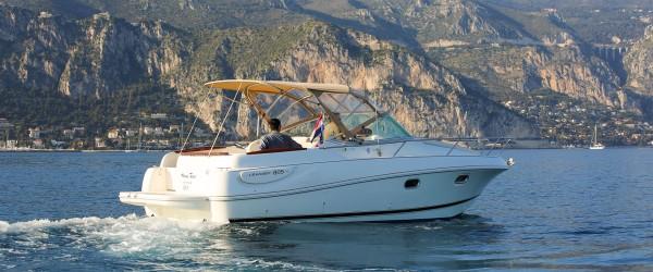 leader 805 yacht rental saint jean cap ferrat
