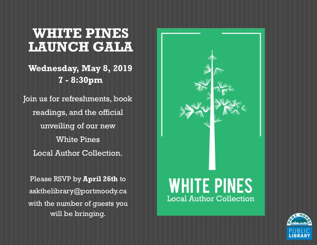 White Pines Launch Gala Invitaton