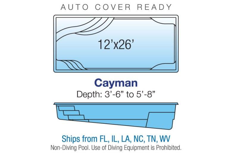 Cayman Regatta blue hawaiian pools of michigan new for 2017 specs