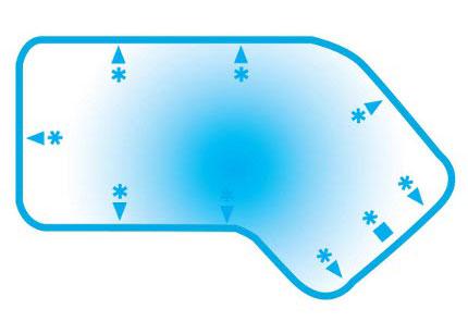 Lazy-L-2ft-radius-Blue Hawaiian Pools of Michigan Image
