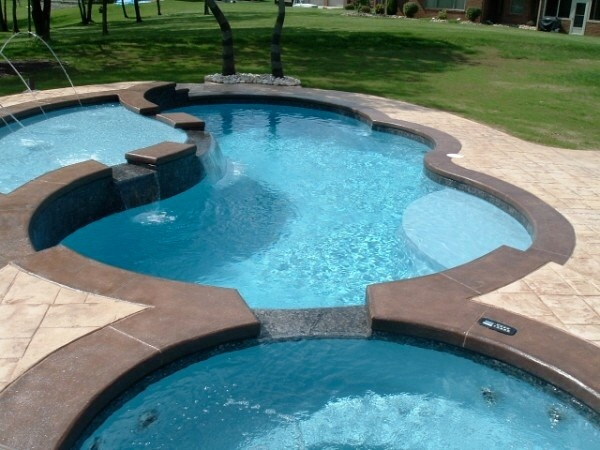 in ground swimming pool builder Michigan Clarston, Milford, Fenton, Oxford, Lansing, Shelby Mi. inground Swimming pool Installation Clarkston Michigan Swimming Pool Sale www.bluehawaiianpoolsofmichigan.com 14 - 019