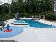 in ground swimming pool builder Michigan Clarston, Milford, Fenton, Oxford, Lansing, Shelby Mi. inground Swimming pool Installation Clarkston Michigan Swimming Pool Sale www.bluehawaiianpoolsofmichigan.com 13-4