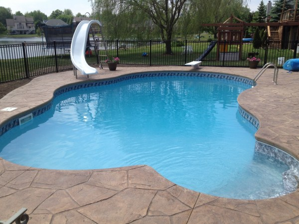 in ground swimming pool builder Michigan Clarston, Milford, Fenton, Oxford, Lansing, Shelby Mi. inground Swimming pool Installation Clarkston Michigan Swimming Pool Sale www.bluehawaiianpoolsofmichigan.com 14 - 144