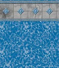 in ground vinyl liner swimming pool michigan blue hawaiian pools of michigan StoneBraid_RoyalPrism