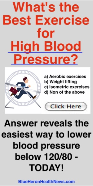 What's the best exercise for High Blood Pressures