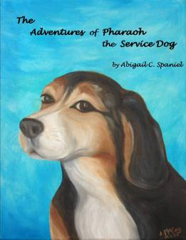 The Adventures of Pharoah the Service Dog Book Cover 1