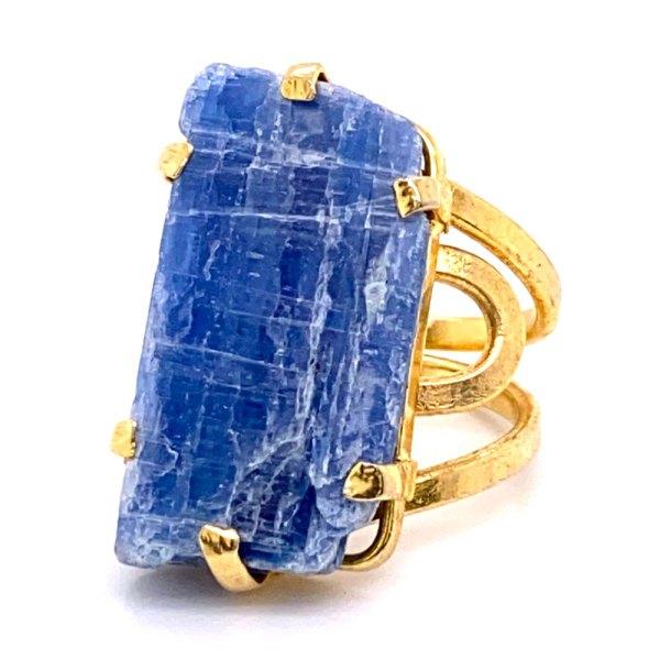 Rough Kyanite Ring