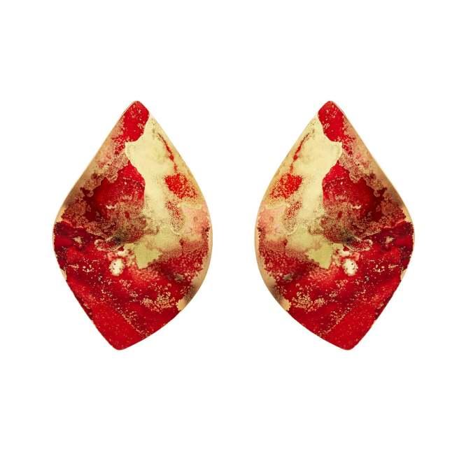 Fire Twist Earrings