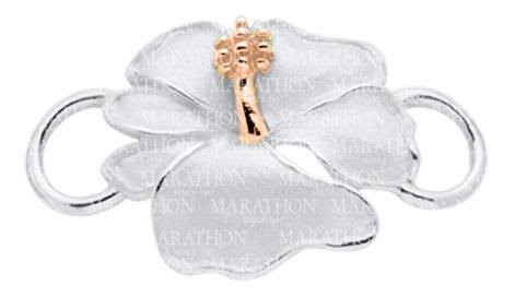 Hibiscus Convertible Clasp with Rose Gold Accent