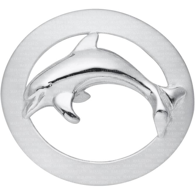 Oval Frame Dolphin Convertible Clasp