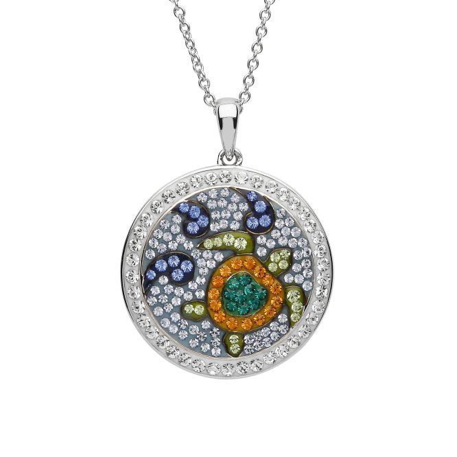 Turtle Mosaic Necklace