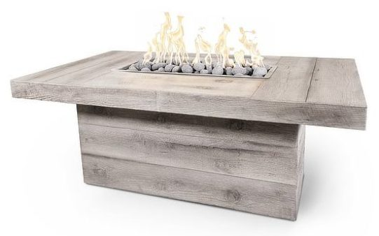 Fire table from Woodlands Direct