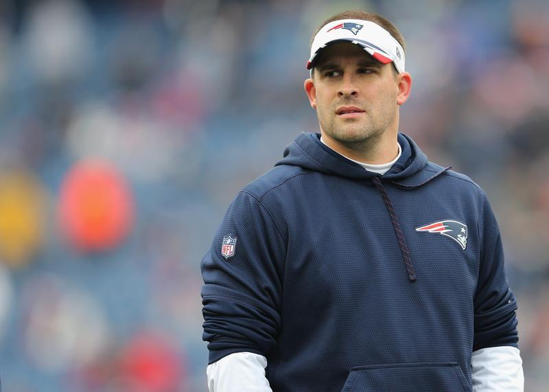 Giants request interviews with Patriots' McDaniels, Patricia