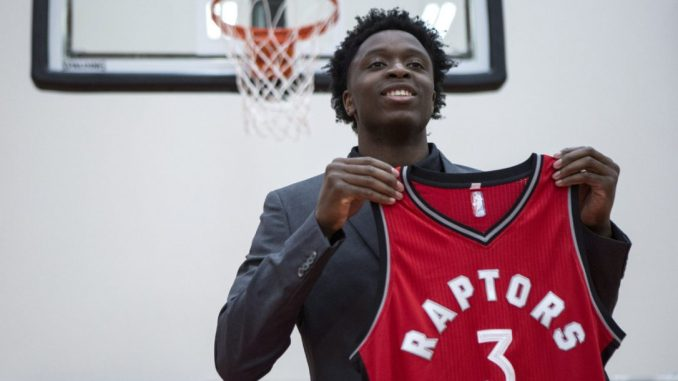 2126ca0ea OG Anunoby was a bit of a question mark heading into this year s NBA draft  and for good reason. Anunoby suffered a major season-ending injury to his  knee ...