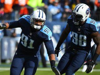 Titans Derrick Morgan and Brian Orakpo