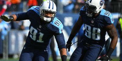 Titans Derrick Morgan and Brian Orakpo