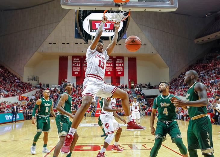 Hoosiers rely on defense to get past South Florida 70-53