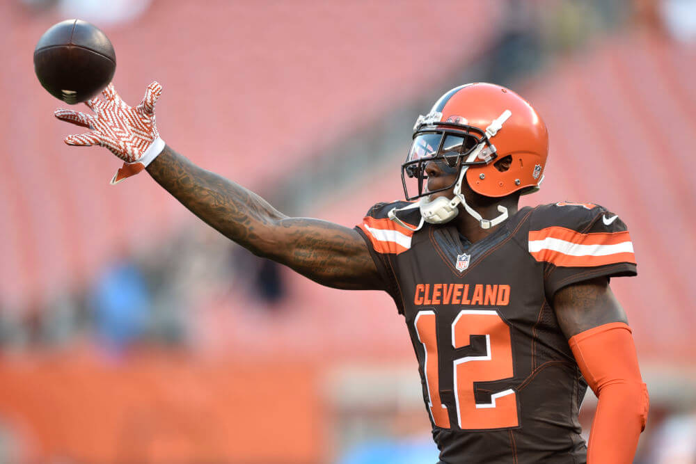 Browns Coach Hue Jackson says Josh Gordon will start on Sunday