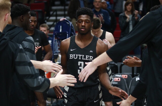 Offensive outburst lifts Butler past No. 1 Villanova