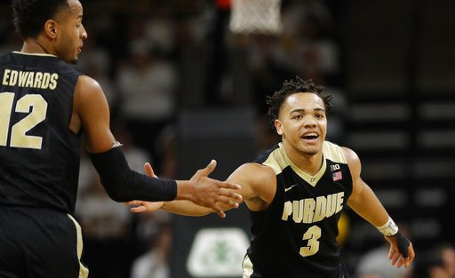 No. 3 Purdue beats IN for school-record 17th straight win