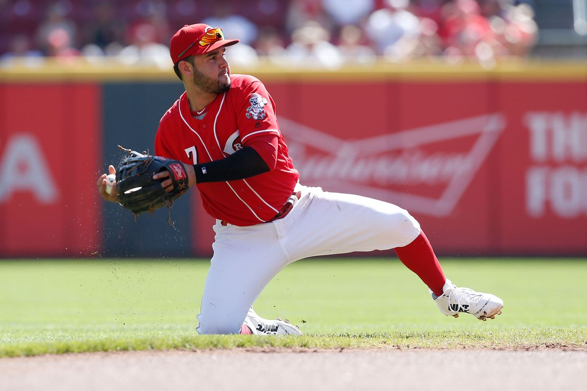 Eaton's five-hit day propels Nationals past Reds