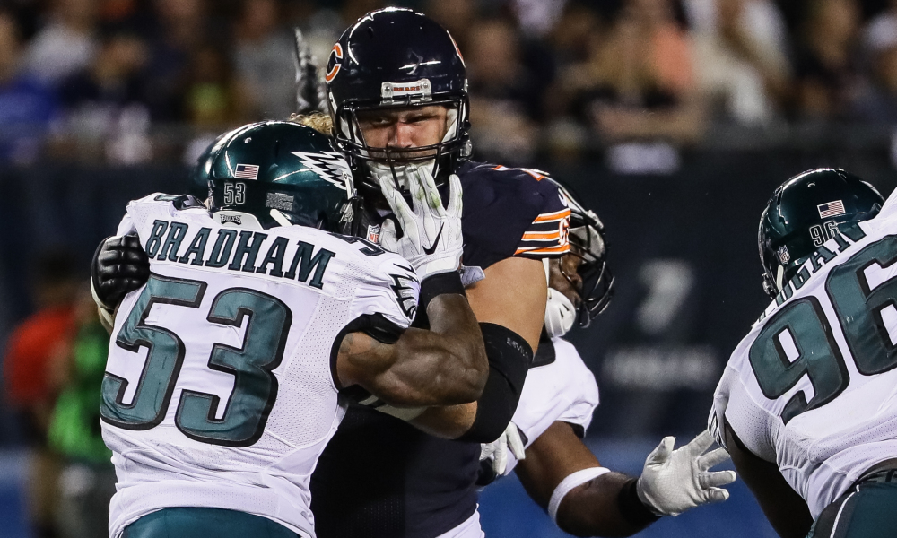 Eagles re-sign Bradham, expected to shop Kendricks