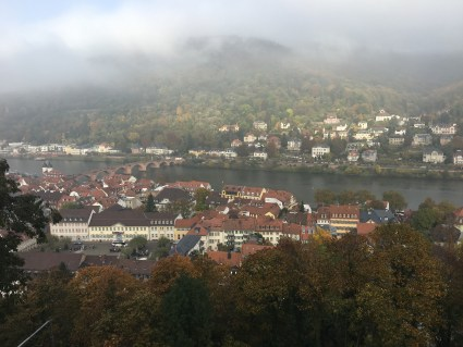 Karl Theodor Bridge across the Neckar River
