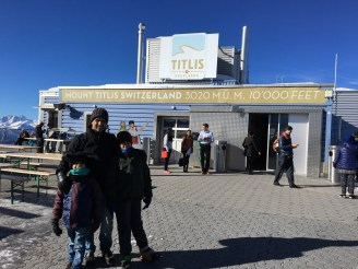 Atop Mt. Titlis