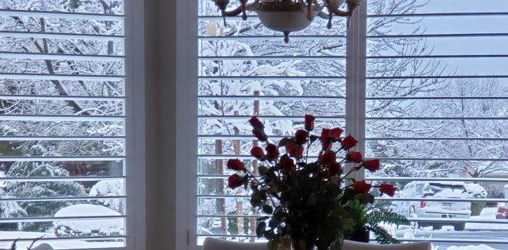 Snow in St. George UT