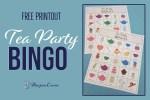 BINGO - Free Printout