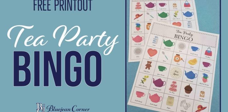 BINGO – Free Printout