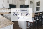 Kitchen Remodel with Cabinet Update