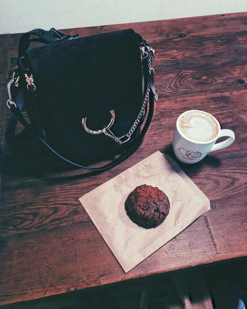Chloe coffee and chocolate cookies iworkedoutextraforthis