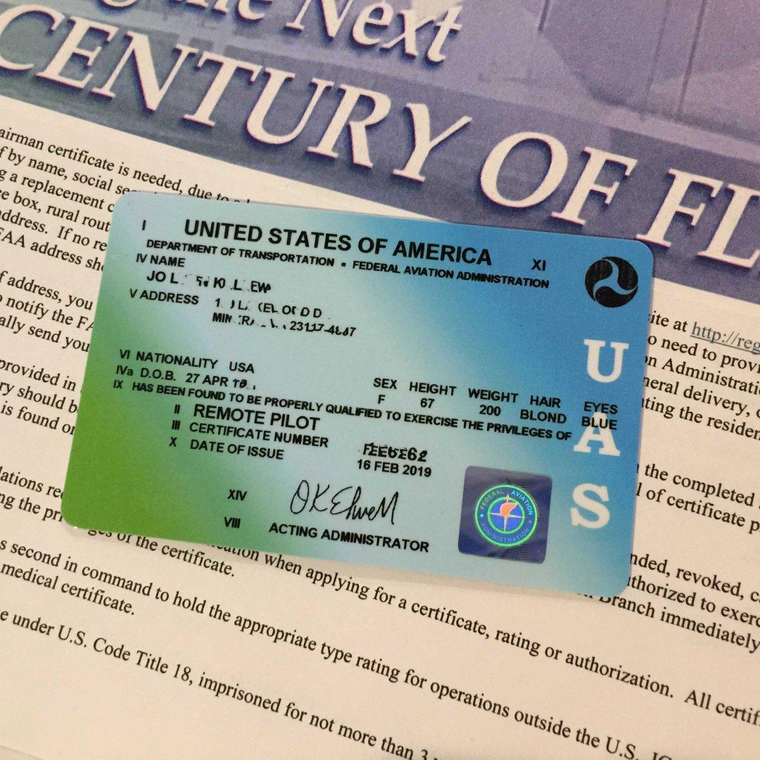 Airman's Certificate_License