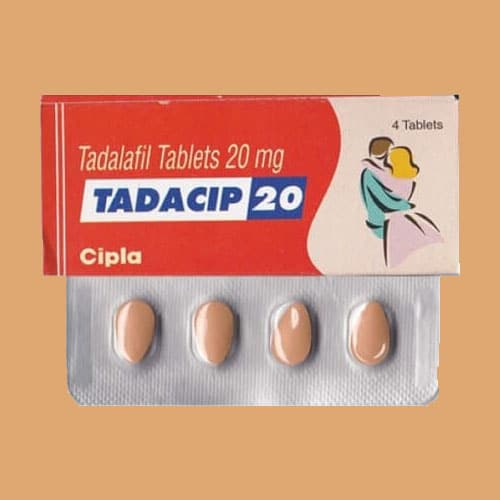 Tadacip 20 mg Tablets