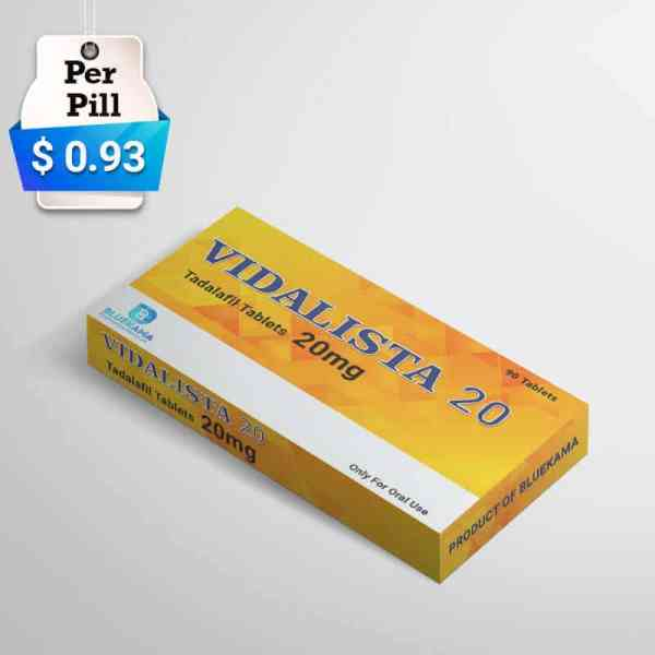 vidalist 20 mg