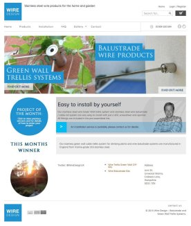 Wire-Design-Ecommerce---Home-Page