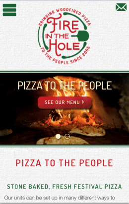 Fire In The Hole Mobile Responsive Design