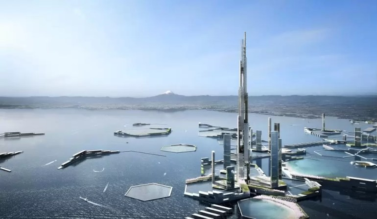Sky Mile Tower would rise an incredible 1,700 m